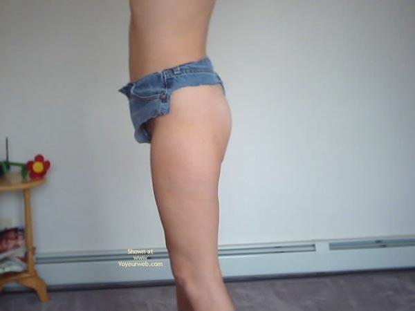 Pic #1 Bunny'S Thong Cutoff Shorts
