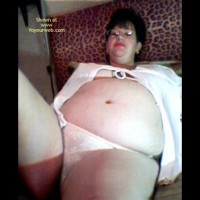 Pic #1 Pregnant Wife After Bath