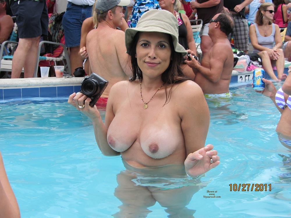 Boob mature pool