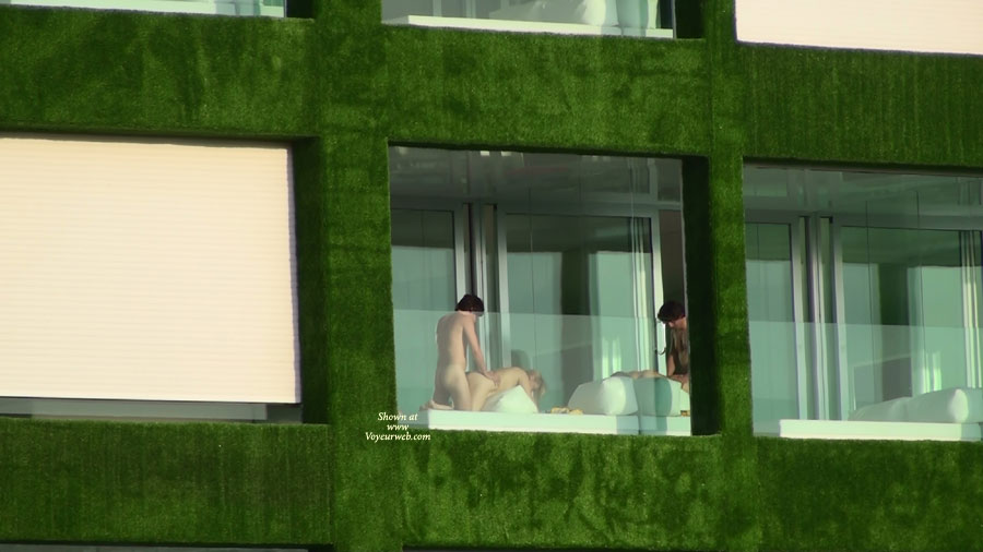 Sex On Balcony Voyeured , Couple Fucking On Balcony, Doggy Style, Public Sex, Bum Spread Open, Street Voyeur, Bending Over Couch, Hotel Show, Nailed From Behind, Open Air, Bending Over