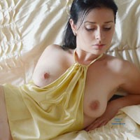 Mysterious Veronik - Big Tits, Brunette Hair, Pussy Lips, Shaved, Sexy Lingerie , I Love You All! Sweet Kisses And Hugs To All!