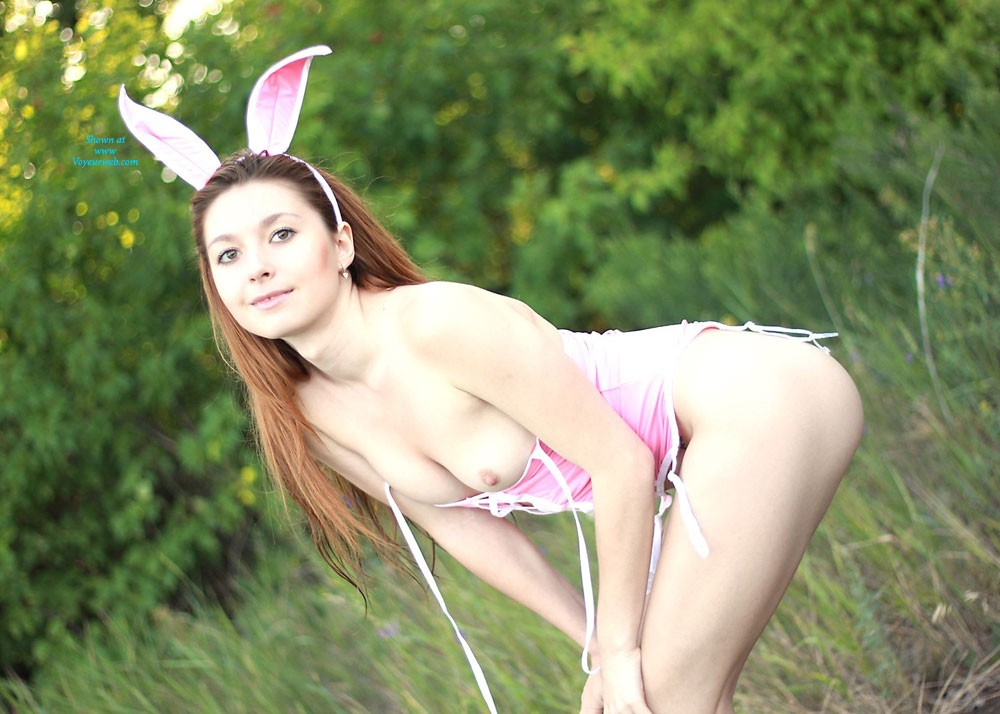 Sexy Bunny - Shaved, Costume , My Fav Sexy Costume. Do U Like To Play With Sexy Bunnies??  Kisses   *** Vivienne ***