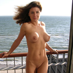 Hotel in Denmark - Big Tits , Just Woke Up And Enjoyed The View