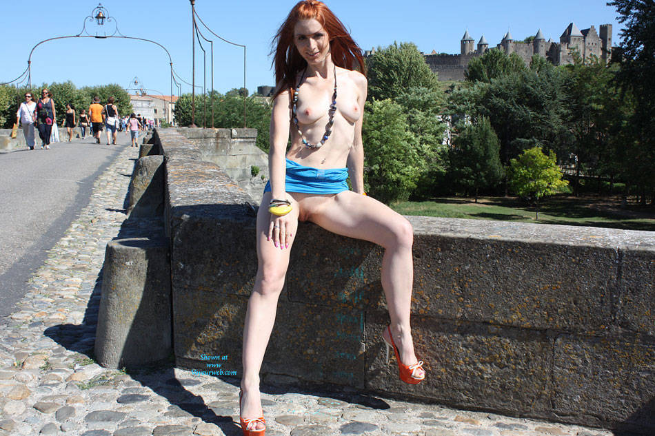 Flashing Redhead At The Park - Erect Nipples, Exposed In Public, Firm Tits, Flashing Tits, Flashing, Hard Nipple, Heels, Nipples, Nude In Public, Red Hair, Redhead, Shaved Pussy, Showing Tits, Hairless Pussy, Hot Girl, Pussy Flash, Sexy Body, Sexy Face, Sexy Figure, Sexy Girl, Sexy Legs, Sexy Woman , Redhead, Nude In Public, Heels, Flashing, Shaved Pussy, Firm Tits, Hard Nipples, Legs