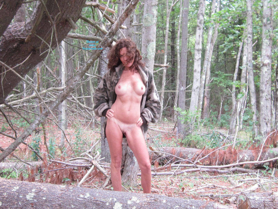 Dojo In The Woods - Part 2 - Big Tits, Nude In Public, Shaved , I Enjoyed My Time In The Woods, So I Decided To Post More Pics!  I'm Wondering If A Certain Tall, Dark And Handsome Hunter Will See These Pics.  If He Does, I Hope He Votes Superb And Leaves A Nice Comment:-)