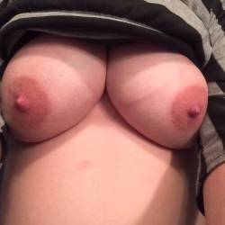 Large tits of my wife - M. Ann