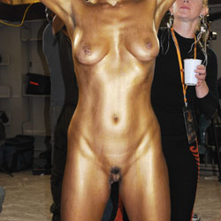 Naked Art Show - Artistic Nude, Big Tits, Erect Nipples, Exposed In Public, Full Nude, Nipples, Showing Tits, Trimmed Pussy, Sexy Body, Sexy Legs , Art Show, Naked, Painted, Big Tits, Trimmed Pussy, Legs, Naked In Public