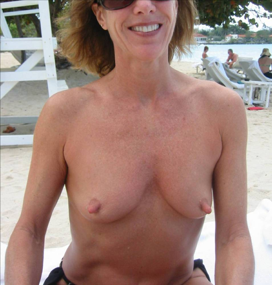 Wife small tits