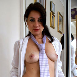 Anna (38) - Shirt And Tie